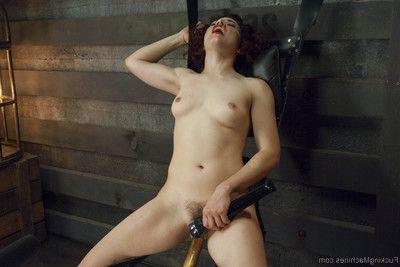 Caged pussy!! ingrid shan`t stop smokin