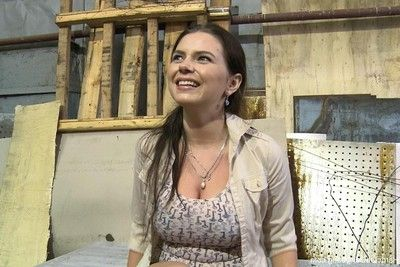 Colossal titted russian courtesan benefits from team-banged for the 1st time