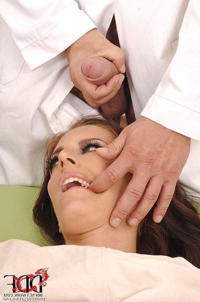 Mira Sunset accepts anally dug with marital-aids by pervy Fetish Gyno doctor