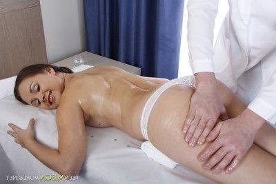 Hardcore love making act massage with ass hole ramming at youthful mega world