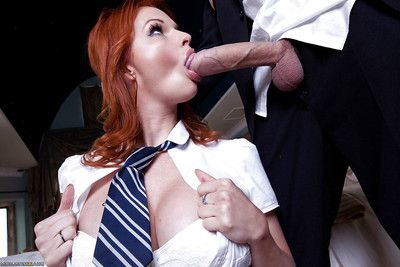 Tarra White blows a colossal phallus and purchases her excited holes penetrated hardcore
