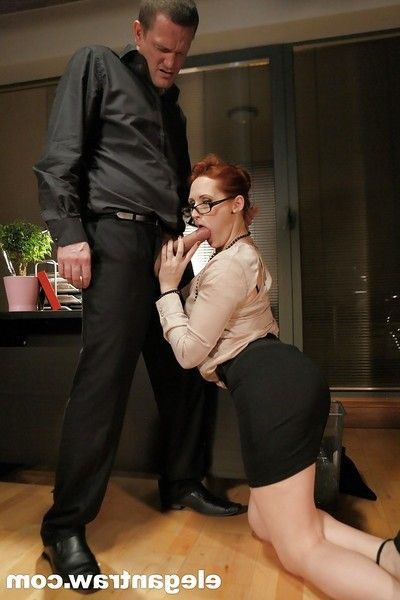 Hardcore anus astonishingly and creampie for redheaded Euro pornstar Emy Russo