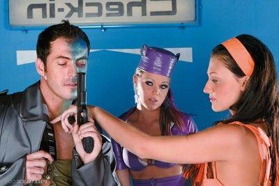 Dolls aletta alien and trisha brill drills in sexth element