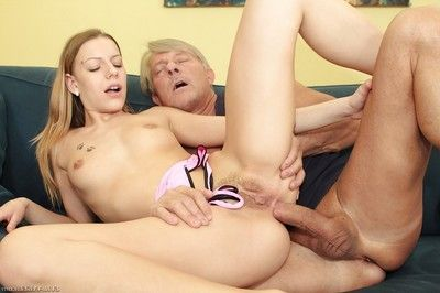 Fascinating gal obtains her glamorous toes licked and her love holes nailed hardcore