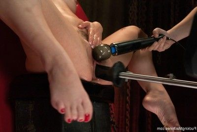 Kristina is a uncommon breed of beauty who can spunk from her pussy, her anus and her cli