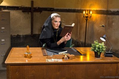 In her number one unleash ever, audrey noir plays a curious virgin nun in discipline who