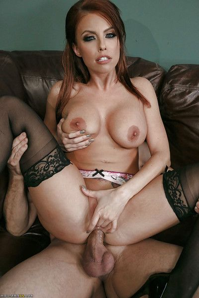 Major boobed secretary Britney Amber jolly facial cum flow from co-worker