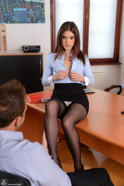 Evelina sweetie acquires 2 screwed by her twofold managers in th