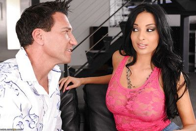 Wooing latin chick Anissa Kate fingers her vagina during getting anal gangbanged