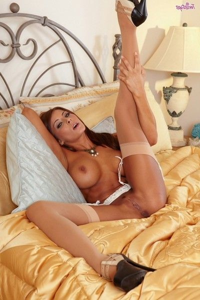 Madison ivy spices things up when that babe launches delightful her love button