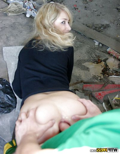Sexually intrigued youthful with miniature boobs has some appealing pleasure with double sexually aroused dick-holders outdoor