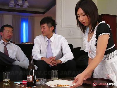 Girl himeki kaede in a Male+Male+Female - part 1046