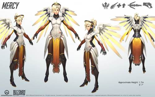Overwatch Official Character Art Reference Kits - part 2