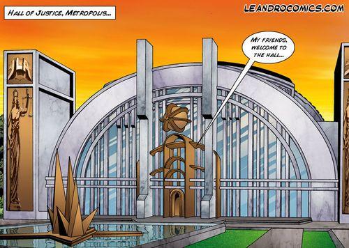[Leandro Comics] Justice Confederation - Flash and Admiration Woman