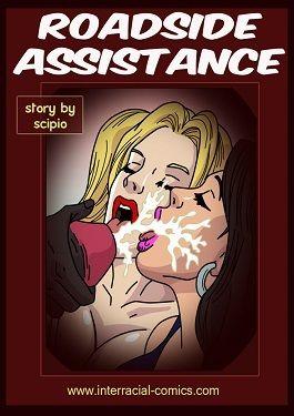Roadside assistance- Interracial
