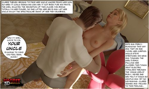 Uncle Arriving Part 2- Incest3DChronicles - part 3