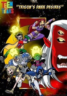 Teen Titans- Trigon's Negroid Desires