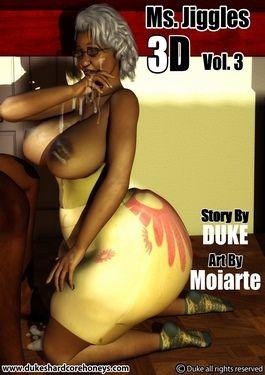 Ms Jiggles 3D – Vol.3- Duke Honey