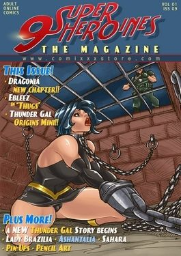 9 Super Heroines – The Magazine 9