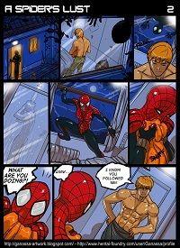A Spider's Lust (Spider-Man)