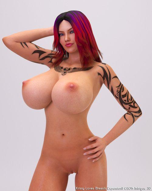 That redhead 3d slut has yes beamy juggs
