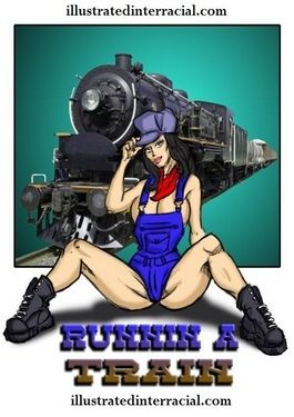 Runnin A Train 1- illustrated interracial