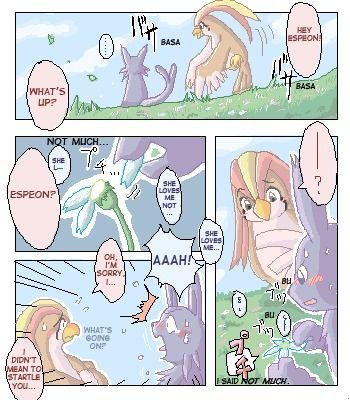 Espeon x Pigiotto (English)