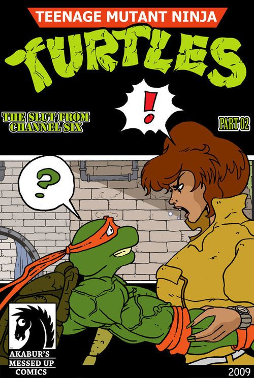 [Akabur] The Slut Alien Curve Six: Part 2 (Teenage Mutant Ninja Turtles)