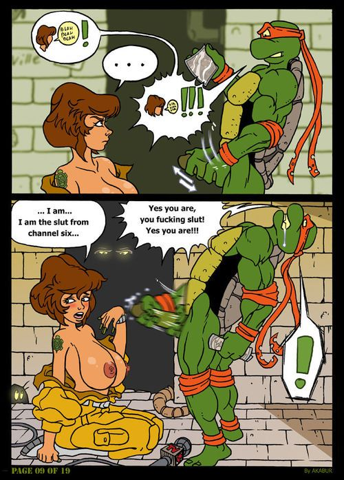 [Akabur] The Slut Alien Curve Six: Part 2 (Teenage Mutant Ninja Turtles)