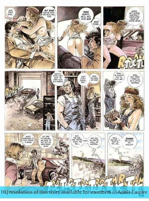 Porn comics with hot chick being fucked unchanging