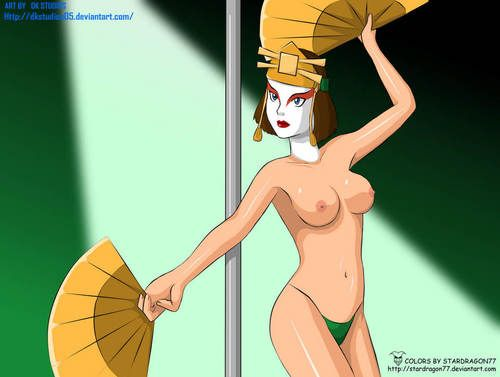 One of the hottest babes from the Avatar cartoon