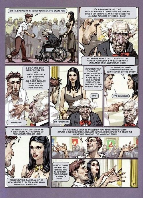 Porn comics with brutal voiced and assfuck scenes