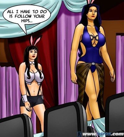 Savita Bhabhi -71 – Pussy on the Catwalk - part 4