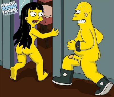 Simpsons - Jessica Lovejoy and Lisa at school