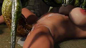 Edge Systems Insect Huntress Saki Hell of Lewd Insects - part 14