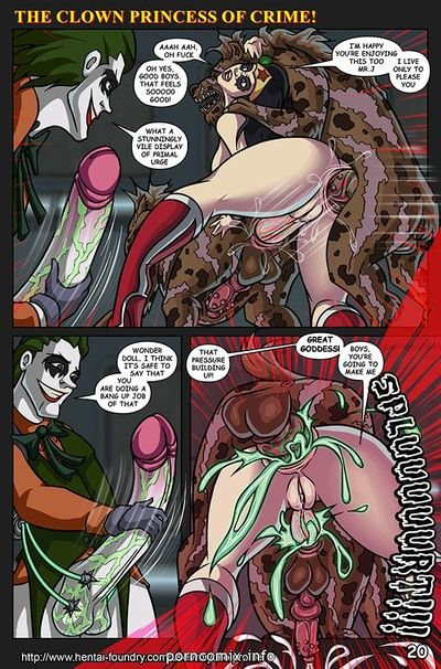 The Clown Princess of Crime - part 2