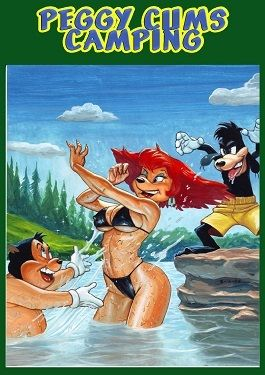 Goof Troop Peggy Cums Camping- PBX