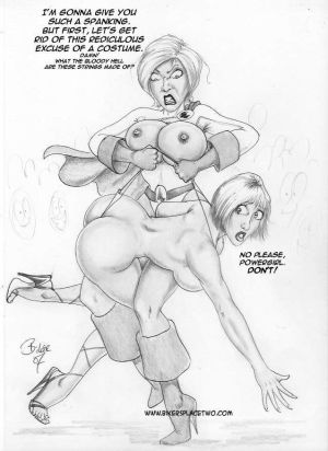 Thong Girl Meets Power Girl - part 2