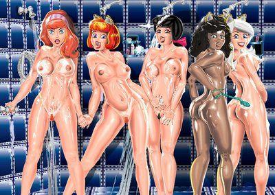 Hardcore 3D Daphne Blake Comics pictures