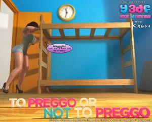 Y3DF – To Preggo or Not to Preggo