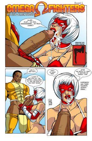 Omega Fighters 4 - Red Fist VS Black Wid…