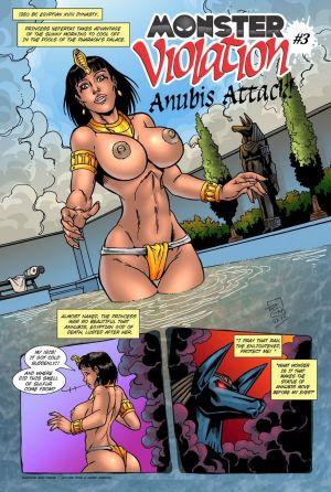 Monster Violation 3 - Anubis Attack