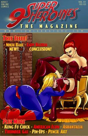 9 Super Heroines – The Magazine 3