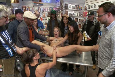 Candice dare in her first public disgrace! she has the body of a goddess but the