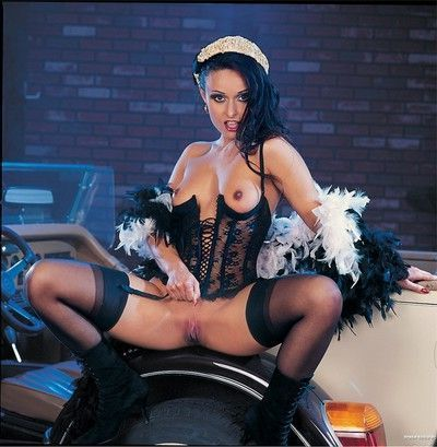Vintage porn queen daniella rush double fucked