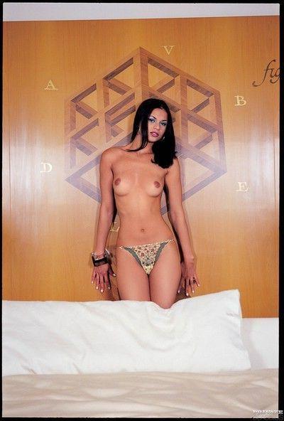 Brazilian classic pornstar fabiola do santos double fucked in an