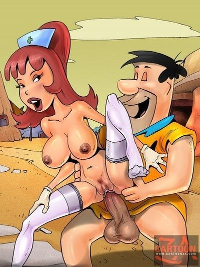 Fred flinstone fucking every woman who knows