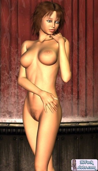3d toon babe naked