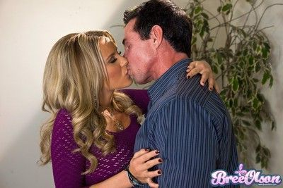 Bree olson and peter north getting it on in public