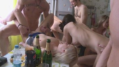 Homemade group sex images
